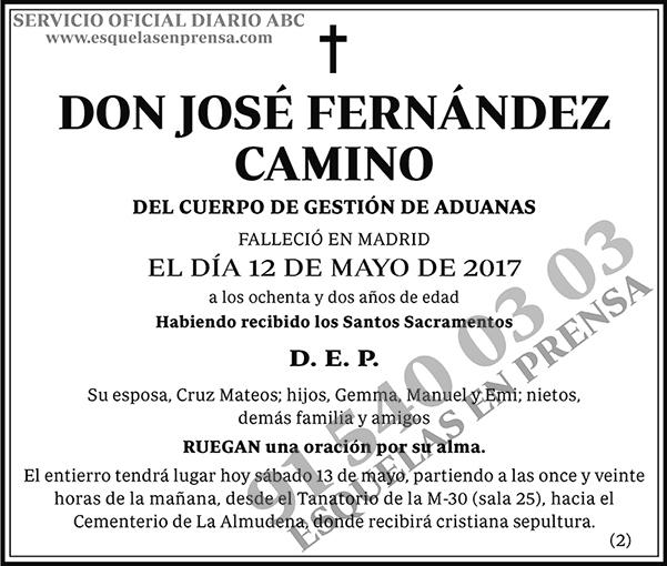 José Fernández Camino